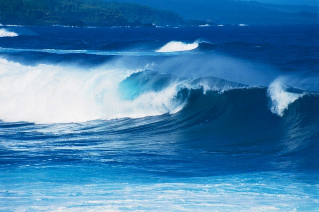 Waves Breaking Near Shore